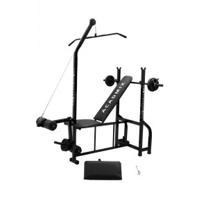 Academia de Musculação 20 Exercícios Metalmix Acadmix Top