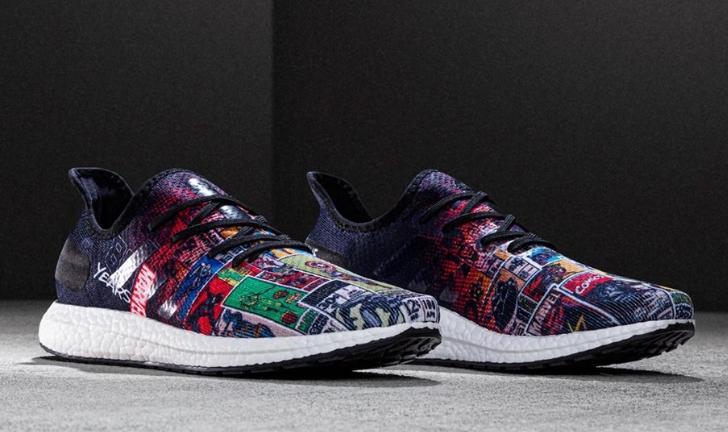 Adidas e Marvel criam super linha de tênis em homenagem aos 80 anos da editora