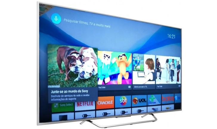 Android TV: veja lançamento da linha de televisores da Sony