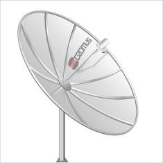 Antena de TV Parabólica Cromus 1,90m