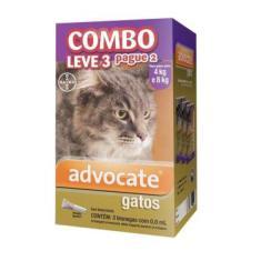 Antipulgas Combo Advocate para Gatos entre 4 e 8kg 0,8ml