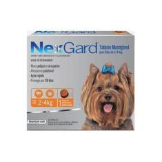 Antipulgas e Anticarrapatos NexGard para Cães de 4,1 a 10 Kg