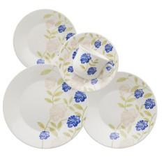 Aparelho de Jantar Redondo de Cerâmica 20 peças - Actual Perfeito Biona Oxford Porcelanas
