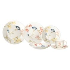 Aparelho de Jantar Redondo de Cerâmica 20 peças - May Biona