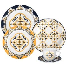 Aparelho de Jantar Redondo de Cerâmica 30 peças - São Luis Oxford Porcelanas