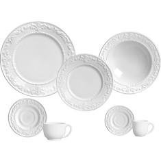 Aparelho De Jantar 42 Peças Utilidades Domésticas Comparar Preço