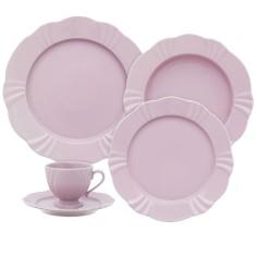 Aparelho de Jantar Redondo de Porcelana 20 peças - Soleil Sweet Oxford Porcelanas