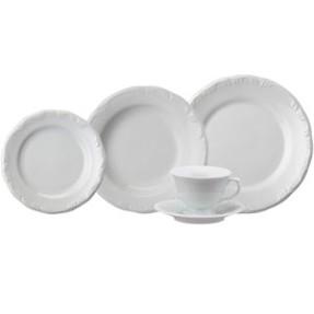 Aparelho de Jantar Redondo de Porcelana 30 peças - Pomerode Schmidt