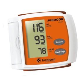 Aparelho Medidor de Pressão De Pulso Digital Automático Incoterm Visocor 29846