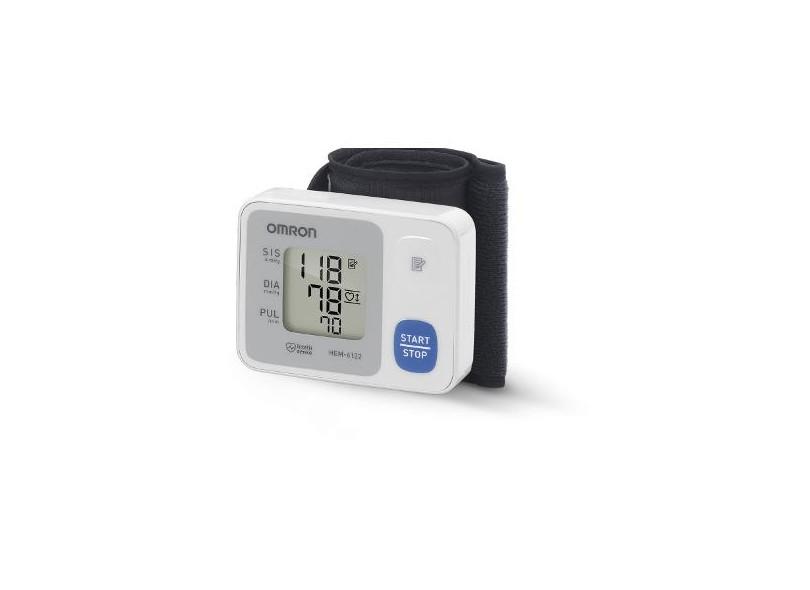 f6a0b355a Aparelho Medidor de Pressão Digital De Pulso Omron HEM-6122