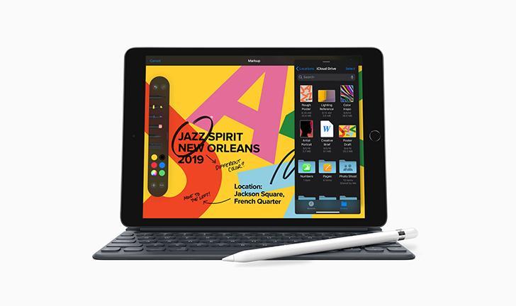 """Apple anuncia iPad de 7ª geração com tela de 10,2"""" e suporte ao Smart Keyboard"""