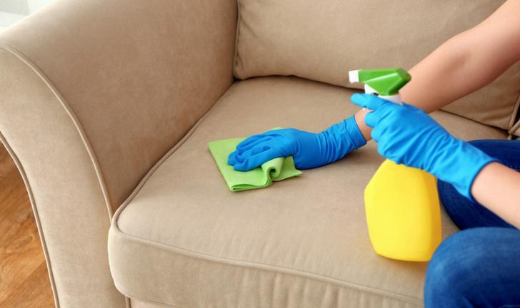 Resultado de imagem para Como limpar sofá com bicarbonato