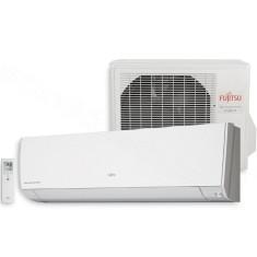 Ar-Condicionado Split Hi Wall Fujitsu 9000 BTUs Inverter Controle Remoto Quente/Frio ASBG09LMCA / AOBG09LMCA