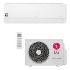 Ar-Condicionado Split Hi Wall LG Dual Inverter Voice 18000 BTUs Inverter Controle Remoto Quente/Frio S4-W18KL31A