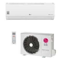 Ar-Condicionado Split Hi Wall LG Dual Inverter Voice 9000 BTUs Inverter Controle Remoto Quente/Frio S4-W09WA51A