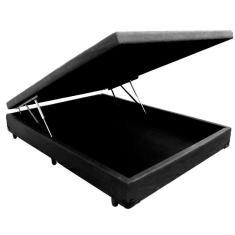 Base Cama Box Casal sem Colchão Basic Mobly