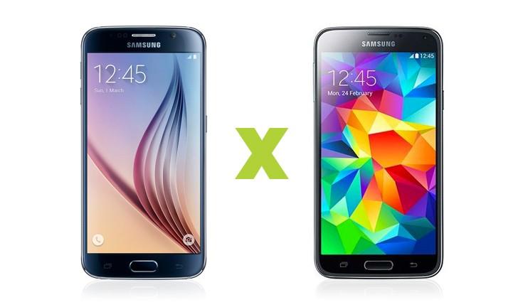 Batalha Samsung: Galaxy S6 x Galaxy S5