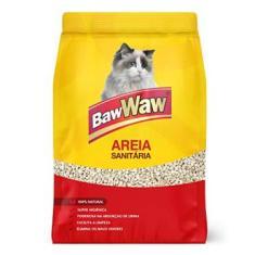 BAW WAW AREIA SANITÁRIA PARA GATOS 4kg