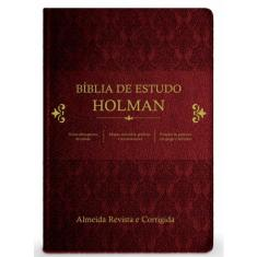 Bíblia de Estudo Holman - Almeida Revista e Corrigida - 7898203067899