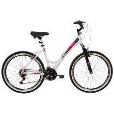 Bicicleta Athor 18 Marchas Aro 26 Suspensão Dianteira Freio V-Brake One