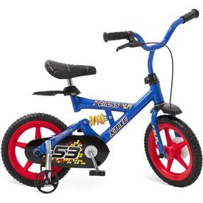 Bicicleta Bandeirante Aro 12 Suspensão no quadro X-Bike Cross