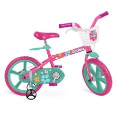 Bicicleta Bandeirante Aro 14 Gatinha 3012