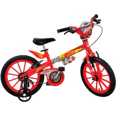 Bicicleta Bandeirante Carros Aro 16 Freio V-Brake 2337