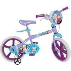 Bicicleta Bandeirante Frozen Aro 14 2485