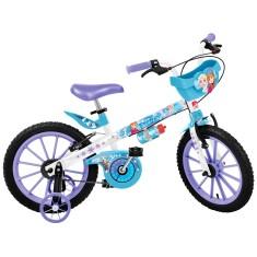 Bicicleta Bandeirante Frozen Aro 16 Freio V-Brake 2499