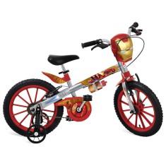 Bicicleta Bandeirante Homem de Ferro Aro 16 Freio V-Brake 2409