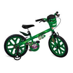Bicicleta Bandeirante Hulk Aro 16 Freio V-Brake 2422