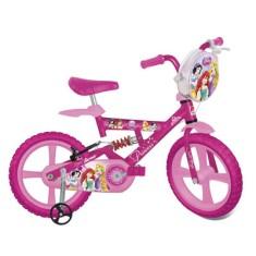 Bicicleta Bandeirante Princesas Aro 14 Suspensão no quadro X Bike
