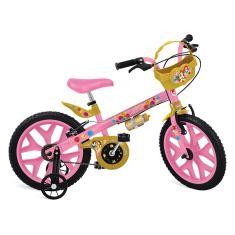 Bicicleta Bandeirante Princesas Aro 16 Freio V-Brake 3109