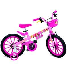 Bicicleta Bandeirante Princesas Aro 16 Freio V-Brake Princesas