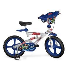 Bicicleta Bandeirante Vingadores Aro 14 Suspensão no quadro X-Bike