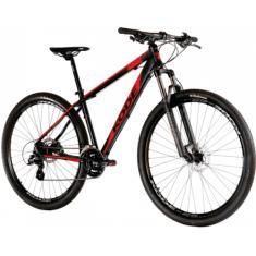 Bicicleta BMX Kode 24 Marchas Aro 29 Suspensão Dianteira Freio a Disco Hidráulico Attack
