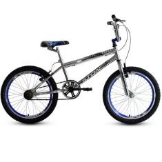 Bicicleta BMX Stone Bike Aro 20 Freio V-Brake Cromo Cross