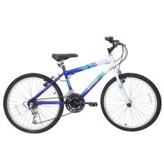 Bicicleta Cairu 21 Marchas Aro 24 Freio V-Brake Flash