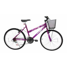 Bicicleta Cairu 21 Marchas Aro 26 Freio V-Brake Bella