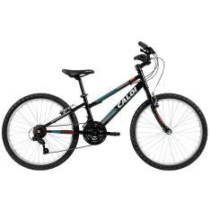 Bicicleta Caloi 21 Marchas Aro 24 Freio V-Brake Forester