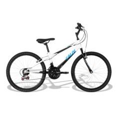 Bicicleta Caloi 21 Marchas Aro 24 Freio V-Brake Max