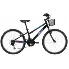 Bicicleta Caloi 21 Marchas Aro 24 Freio V-Brake Sweet 24 2018