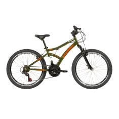 Bicicleta Caloi 21 Marchas Aro 24 Suspensão Dianteira Freio V-Brake Max Front 2021