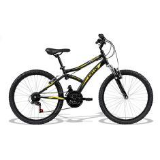 Bicicleta Caloi 21 Marchas Aro 24 Suspensão Dianteira Freio V-Brake Max Front