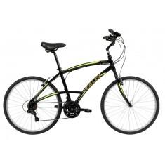 Bicicleta Caloi 21 Marchas Aro 26 Freio V-Brake 100 Comfort
