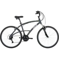 Bicicleta Caloi 21 Marchas Aro 26 Suspensão Dianteira Freio V-Brake 400 Masculina