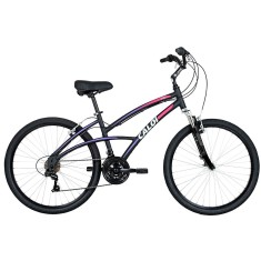 Bicicleta Caloi 21 Marchas Aro 26 Suspensão Dianteira Freio V-Brake 500 Feminina