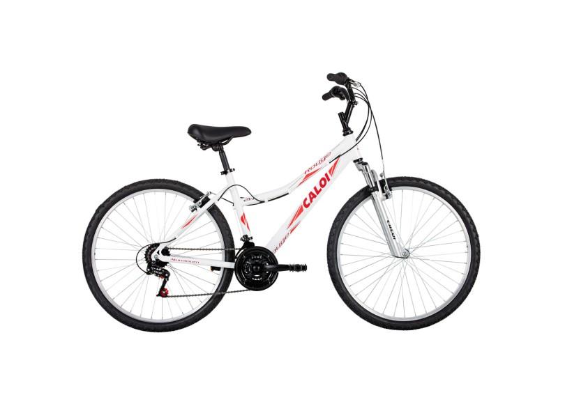 e74727429 Bicicleta Caloi Aro 26 21 Marchas Suspensão Dianteira Rouge