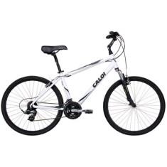 Bicicleta Caloi 21 Marchas Aro 26 Suspensão Dianteira Freio V-Brake Sport Comfort