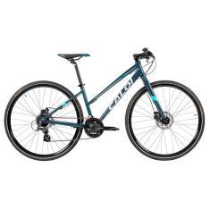 Bicicleta Caloi 21 Marchas Aro 700 Freio a Disco Mecânico City Tour Sport Feminina